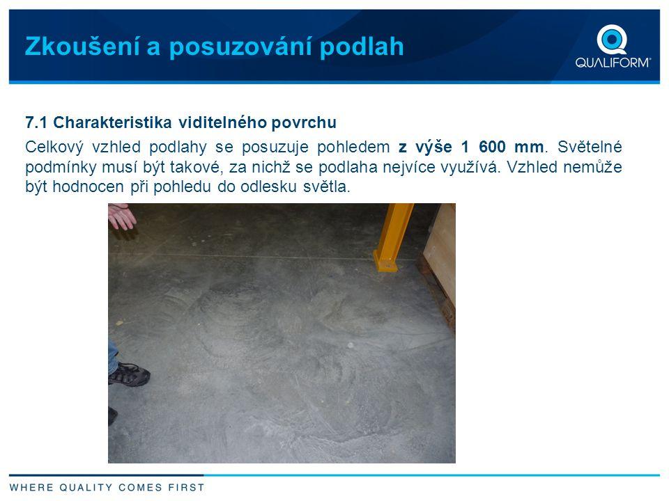 Zkoušení a posuzování podlah