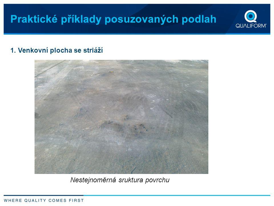 Praktické příklady posuzovaných podlah