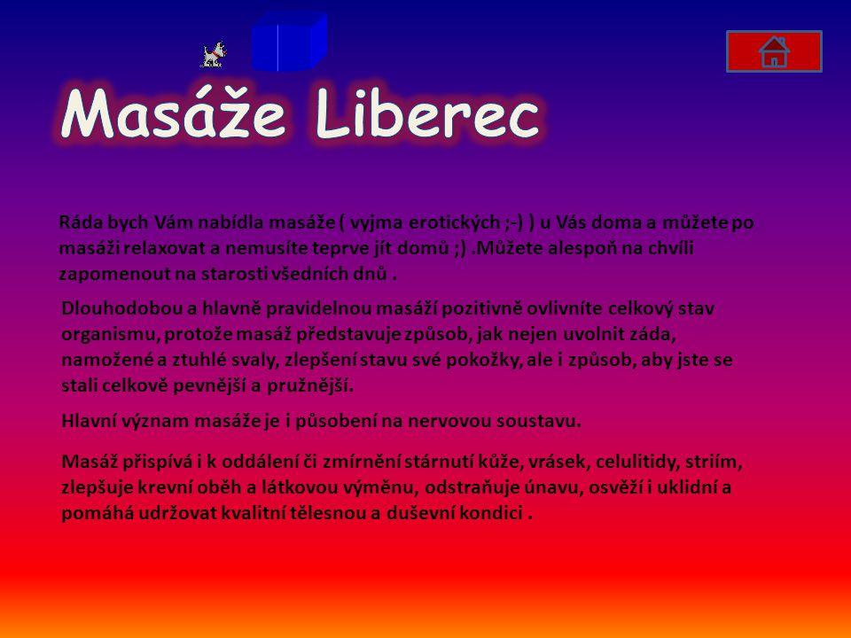 Masáže Liberec