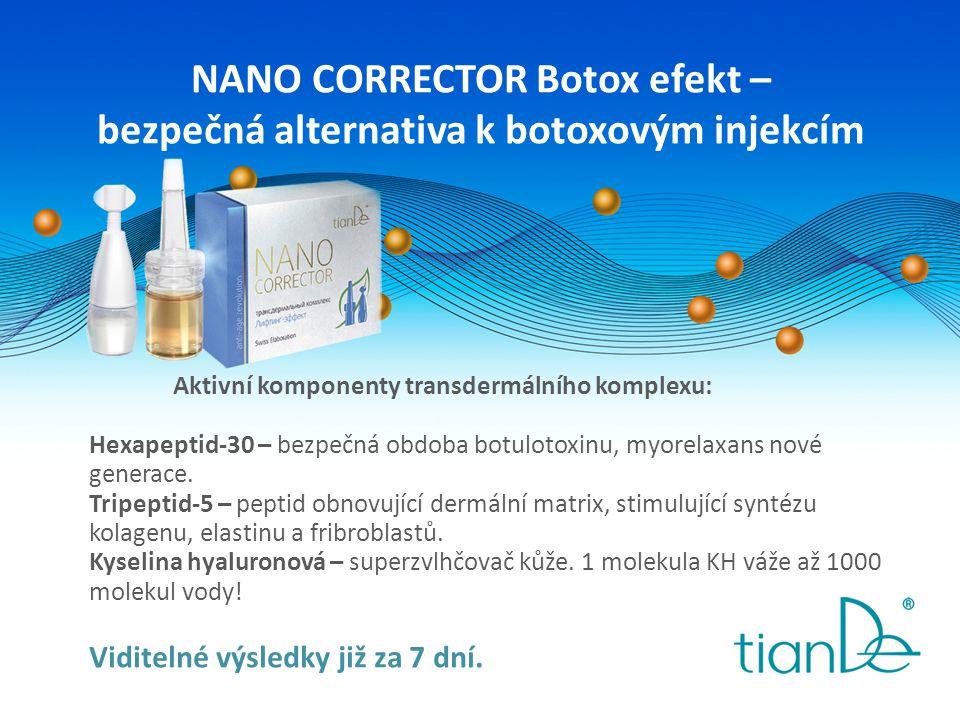 NANO CORRECTOR Botox efekt – bezpečná alternativa k botoxovým injekcím