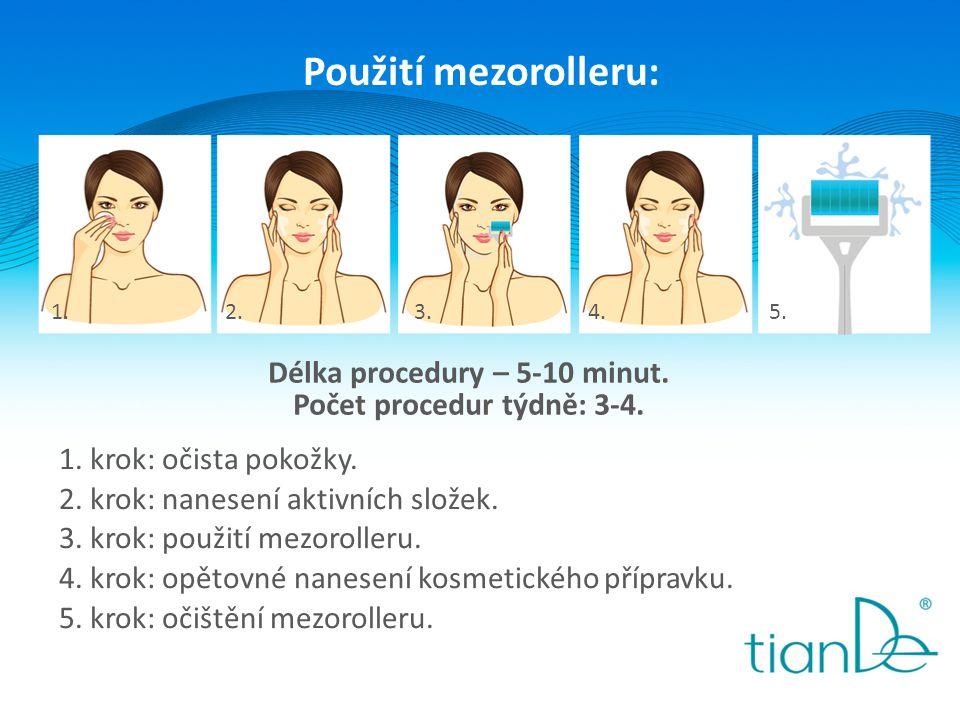 Délka procedury – 5-10 minut. Počet procedur týdně: 3-4.