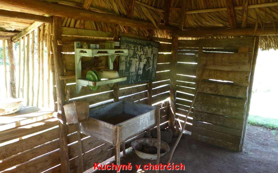 Kuchyně v chatrčích