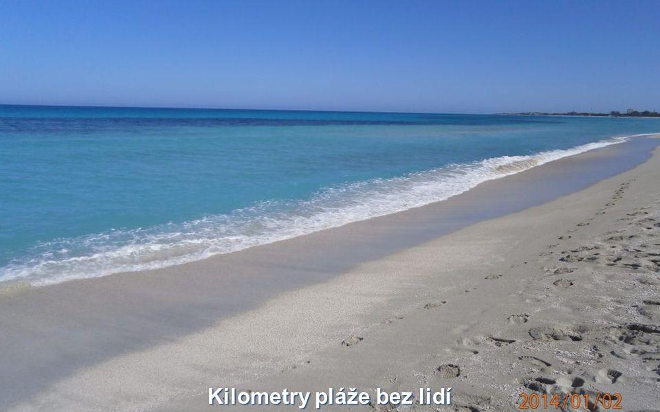Kilometry pláže bez lidí