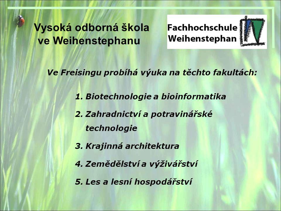 Vysoká odborná škola ve Weihenstephanu