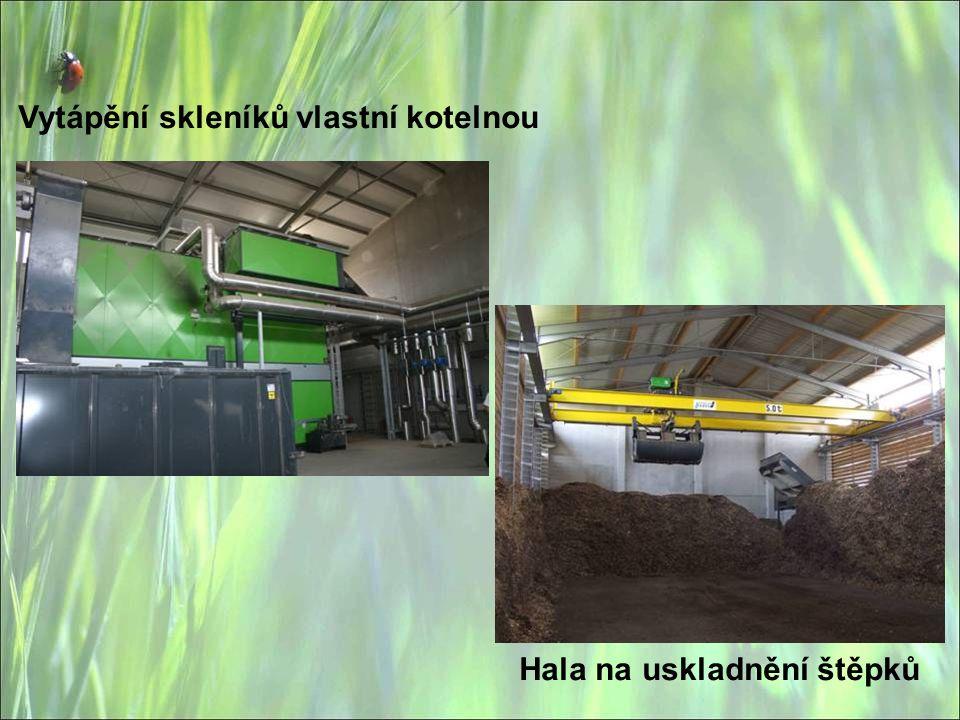 Vytápění skleníků vlastní kotelnou