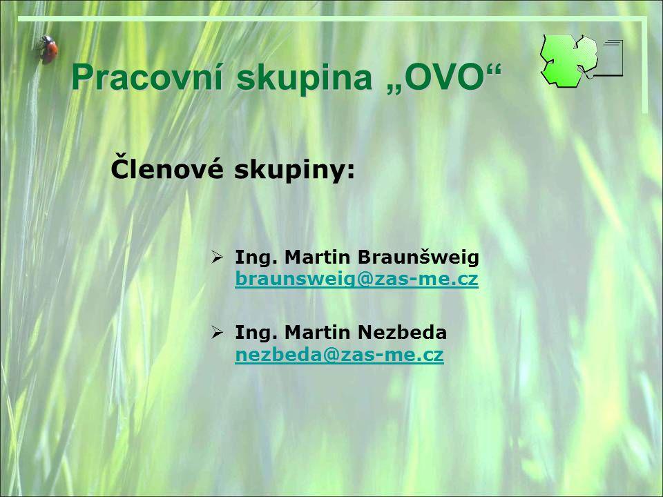 """Pracovní skupina """"OVO"""