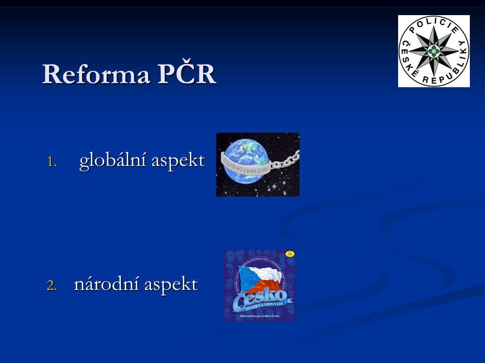 globální aspekt národní aspekt
