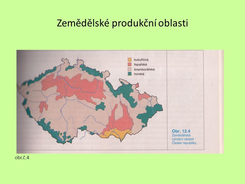 Zemědělské produkční oblasti