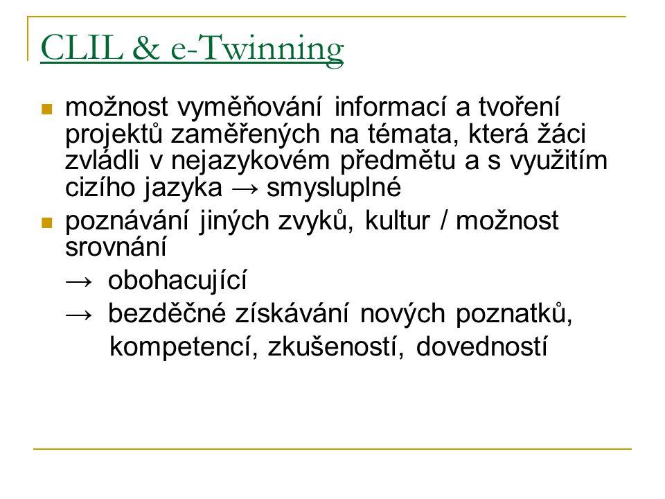 CLIL & e-Twinning