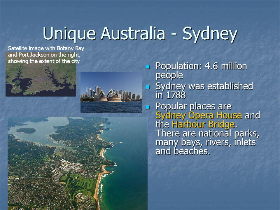Unique Australia - Sydney