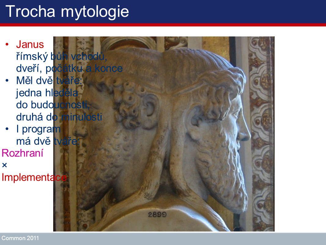 Trocha mytologie Janus římský bůh vchodů, dveří, počátku a konce