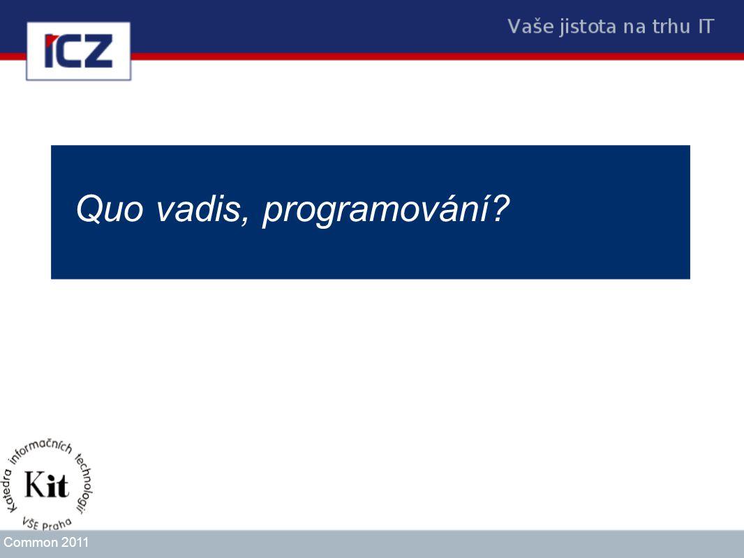 Quo vadis, programování