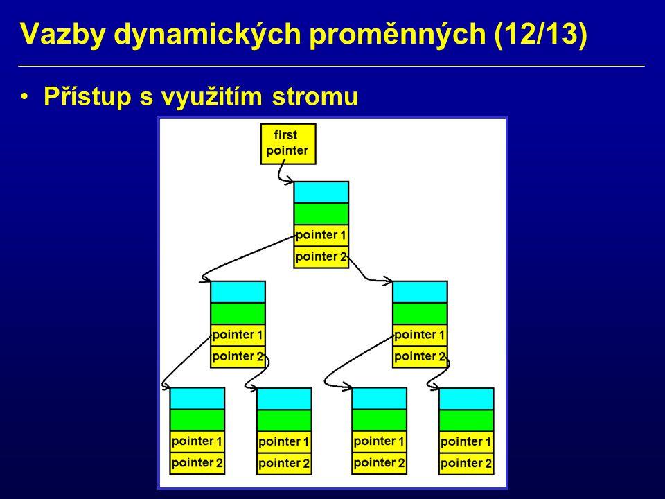 Vazby dynamických proměnných (12/13)
