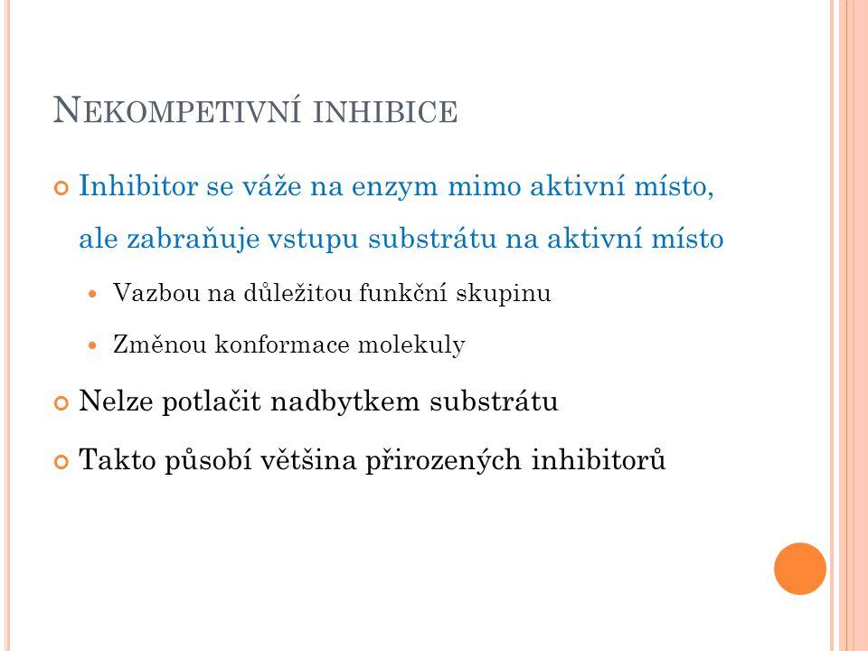 Nekompetivní inhibice