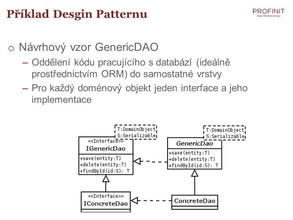 Příklad Desgin Patternu