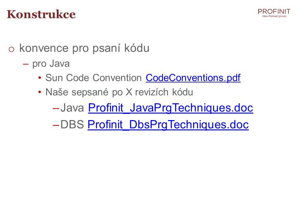 konvence pro psaní kódu