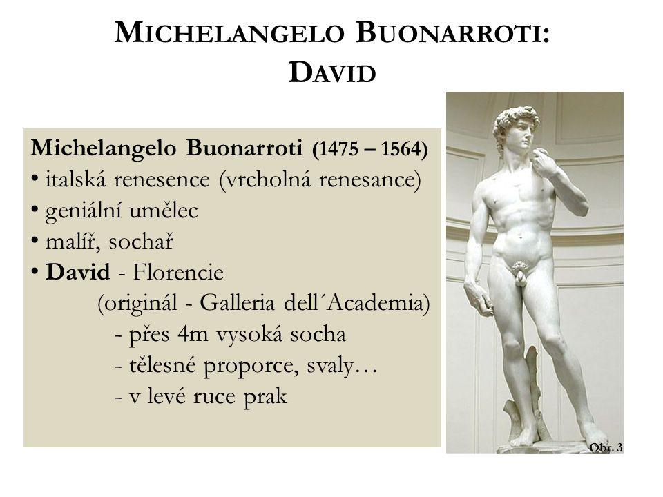 Michelangelo Buonarroti:
