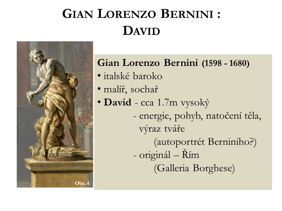Gian Lorenzo Bernini : David