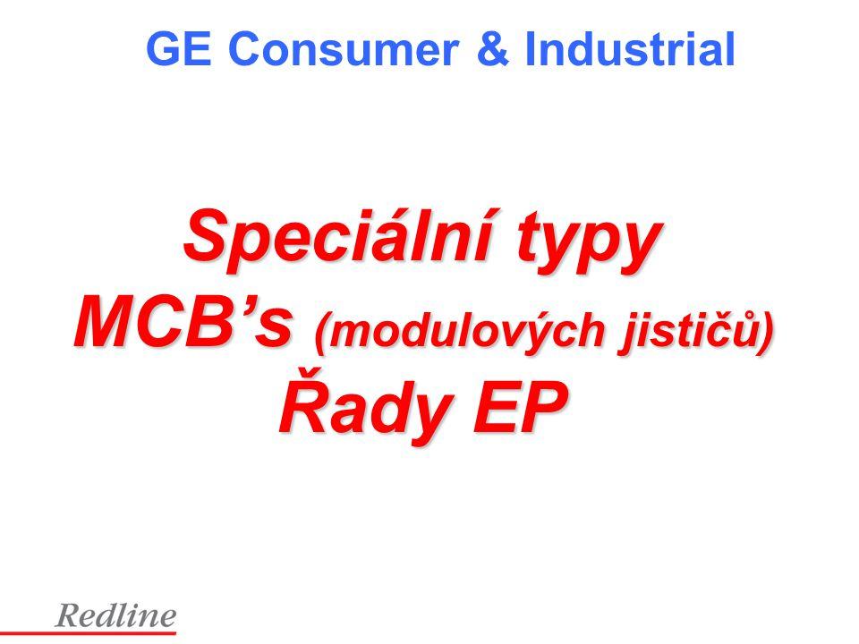 MCB's (modulových jističů)