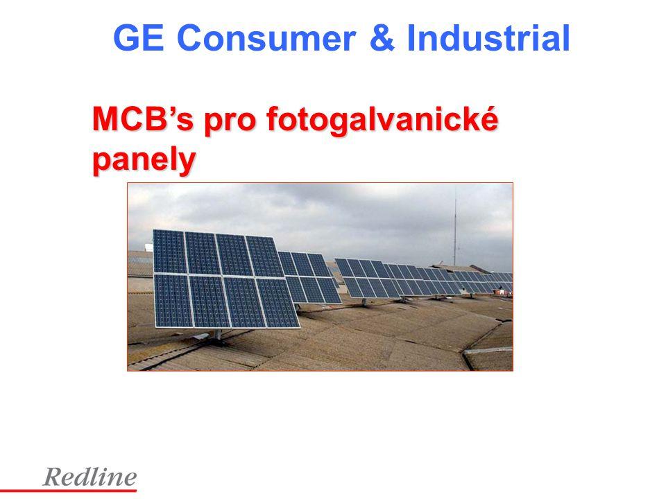 MCB's pro fotogalvanické panely