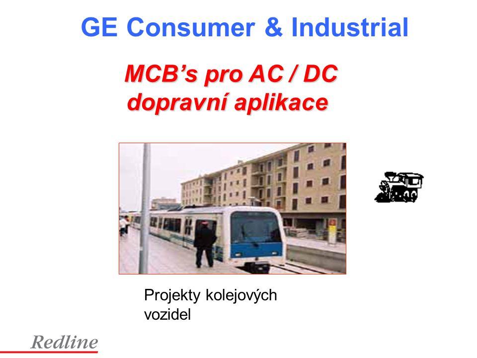 MCB's pro AC / DC dopravní aplikace