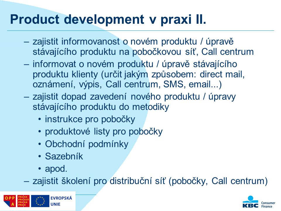 Product development v praxi II.
