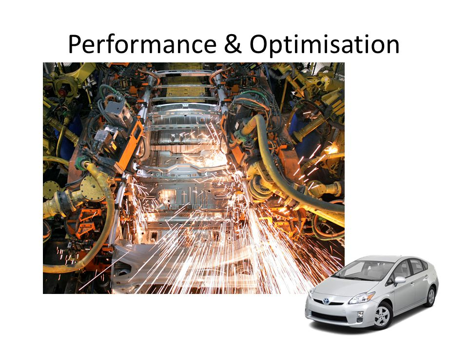Performance & Optimisation