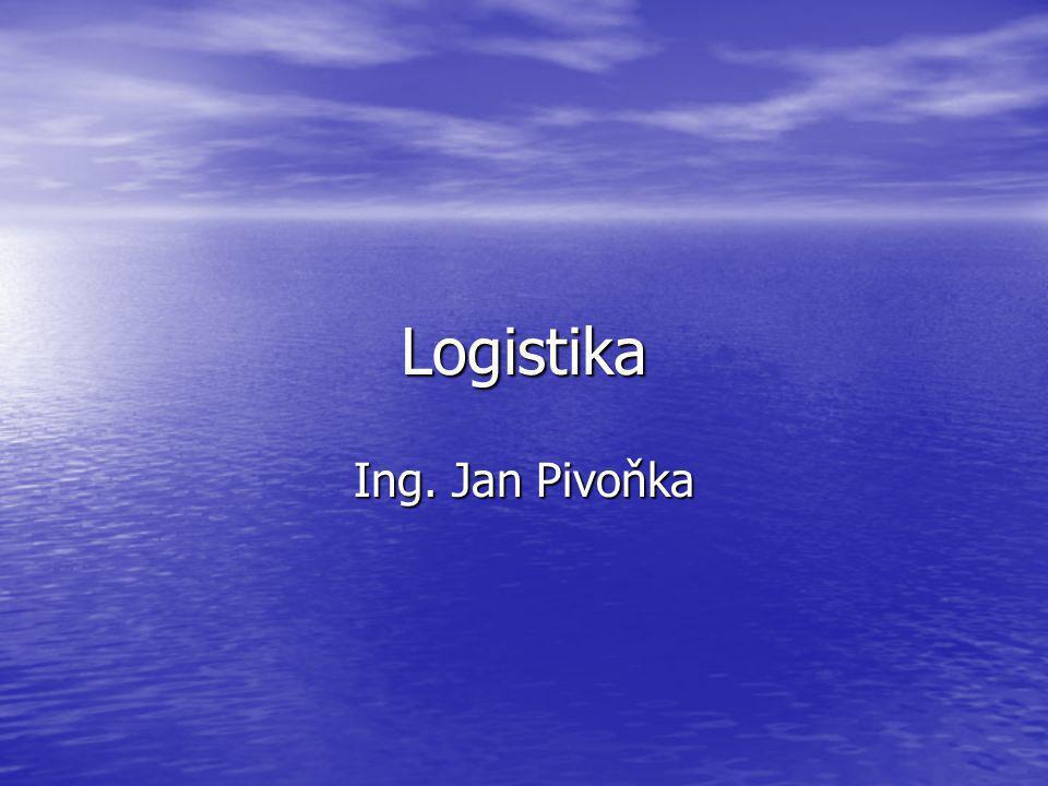 Logistika Ing. Jan Pivoňka