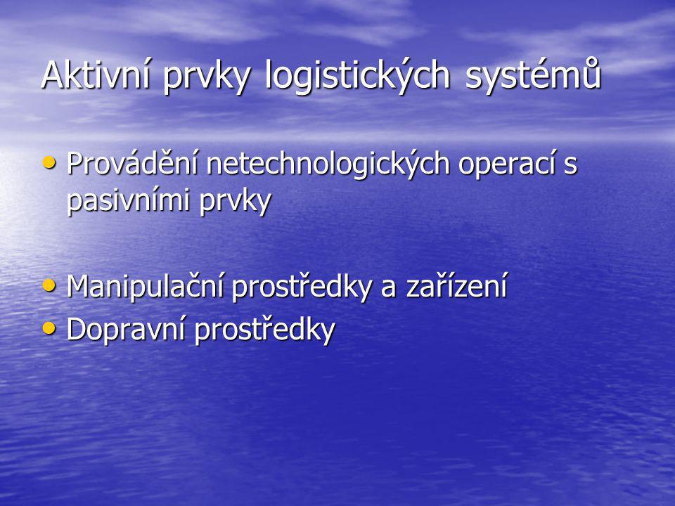 Aktivní prvky logistických systémů