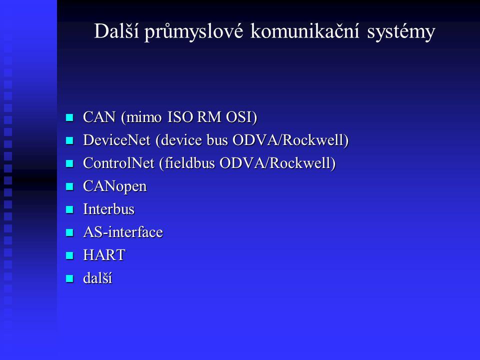 Další průmyslové komunikační systémy
