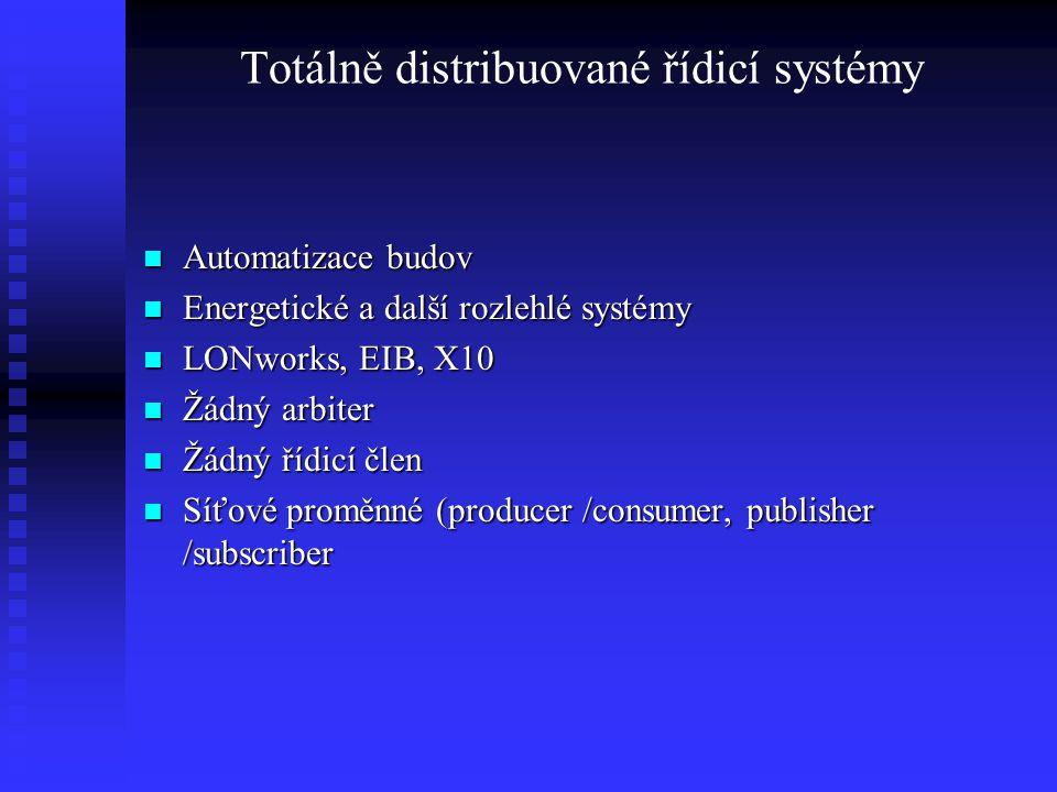 Totálně distribuované řídicí systémy