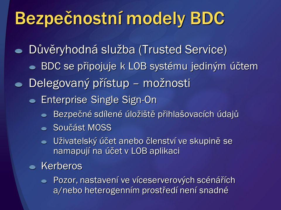 Bezpečnostní modely BDC