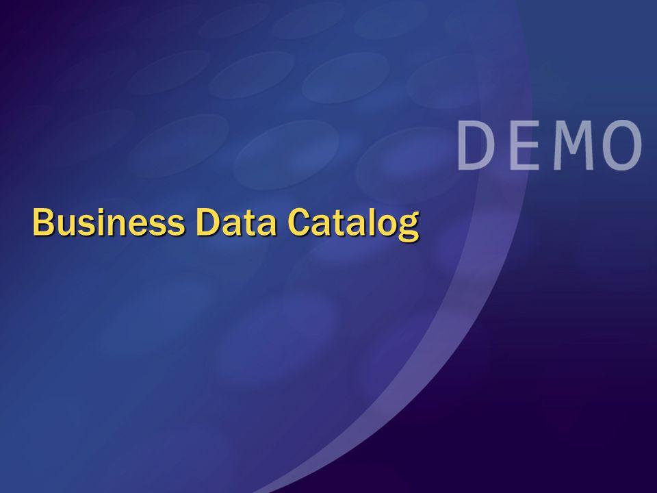 Business Data Catalog MGB 2003