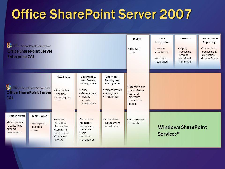 Office SharePoint Server 2007