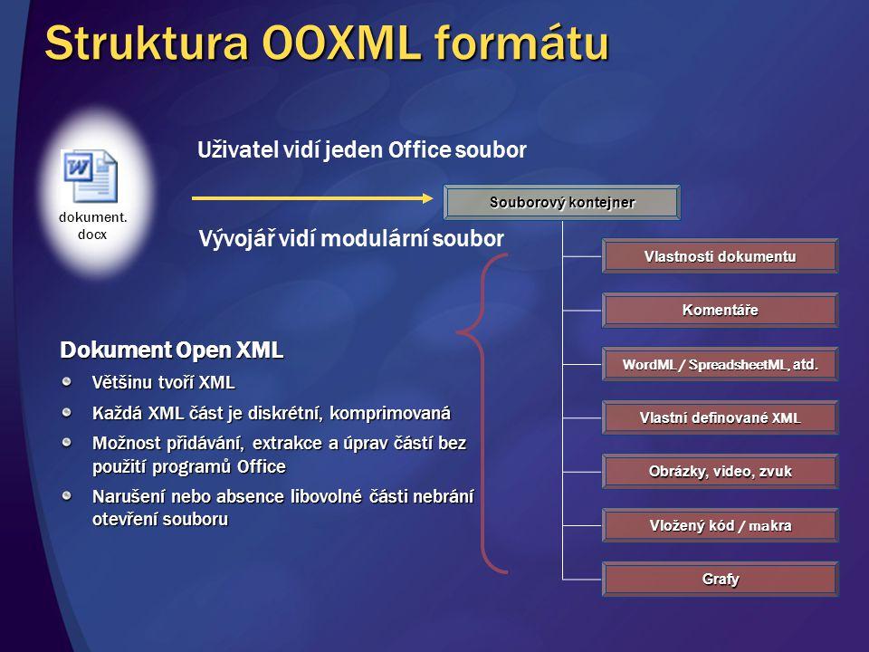 Struktura OOXML formátu