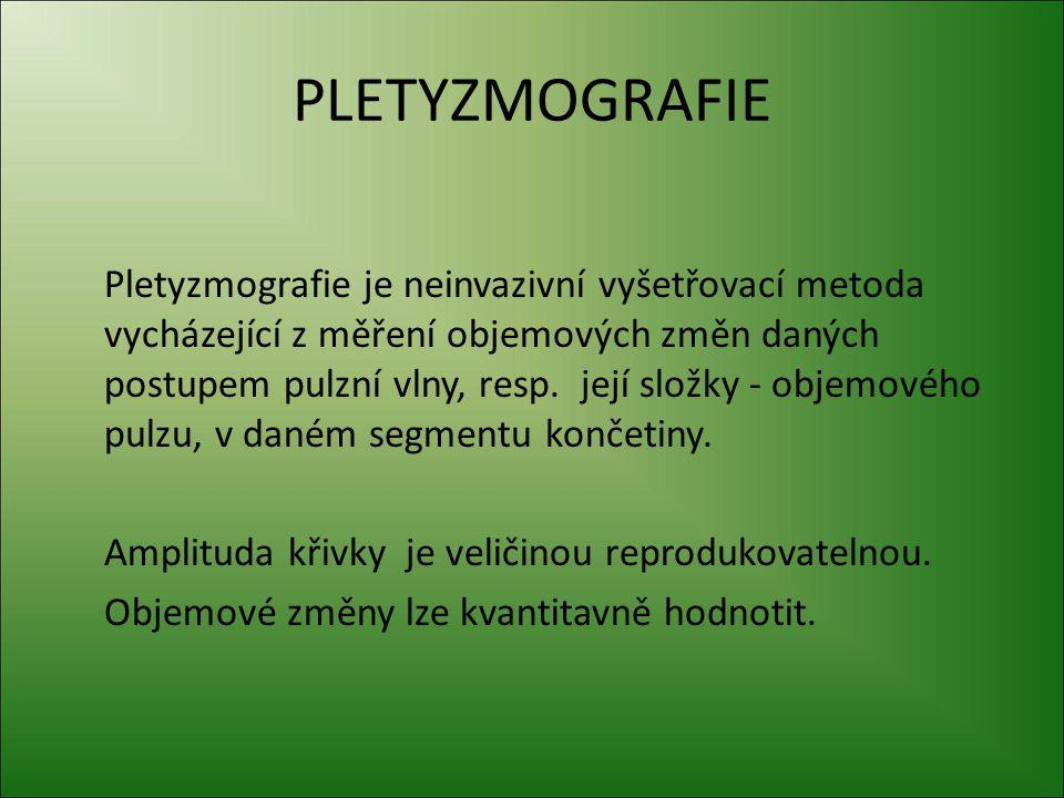 PLETYZMOGRAFIE