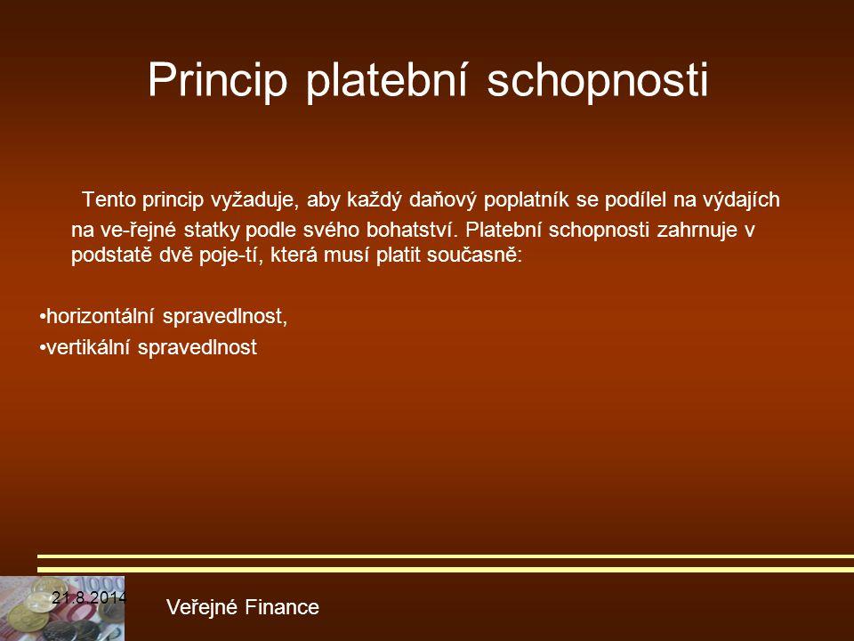 Princip platební schopnosti