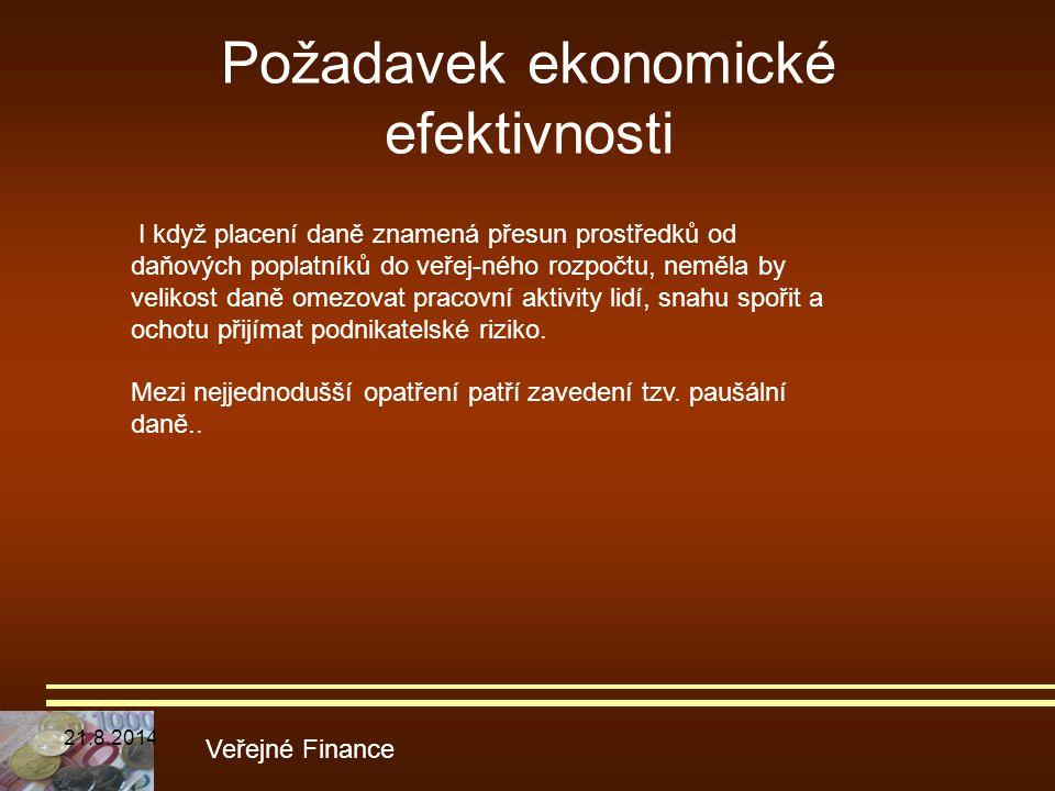 Požadavek ekonomické efektivnosti