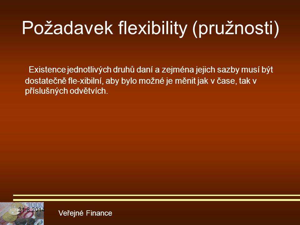 Požadavek flexibility (pružnosti)