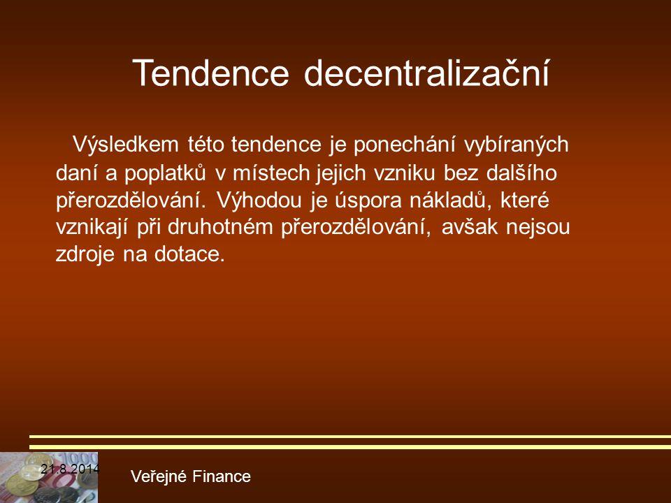 Tendence decentralizační