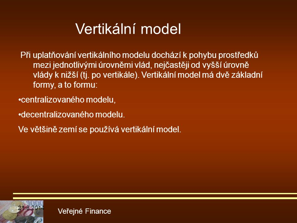 Vertikální model
