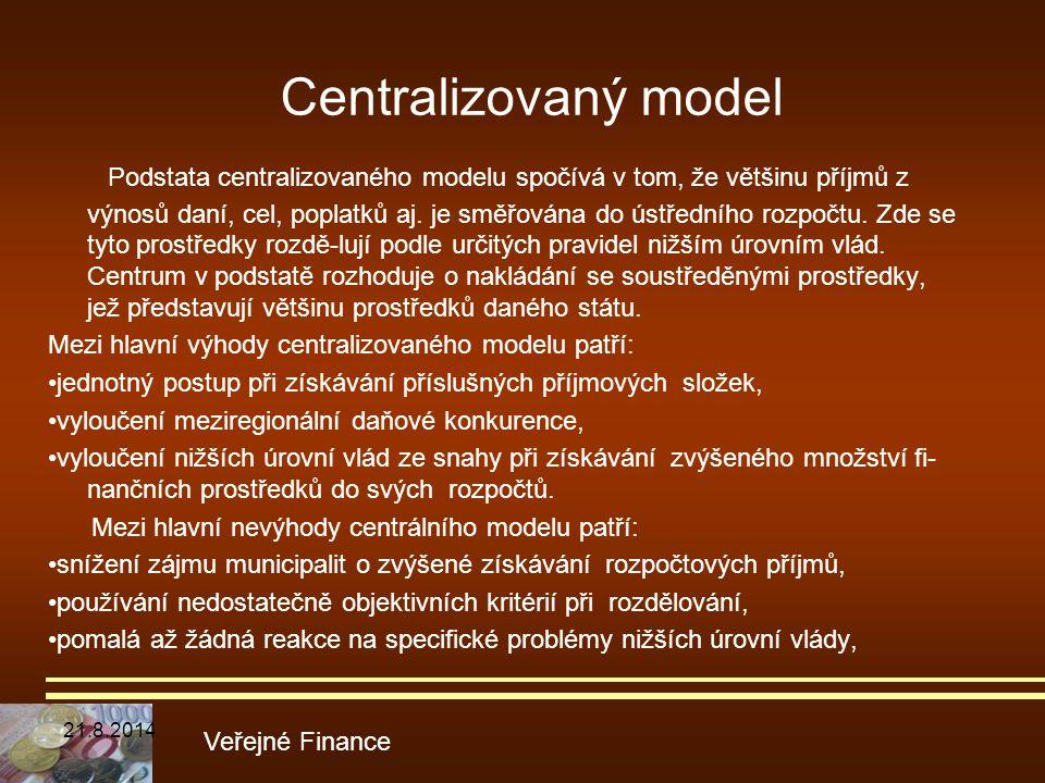Centralizovaný model