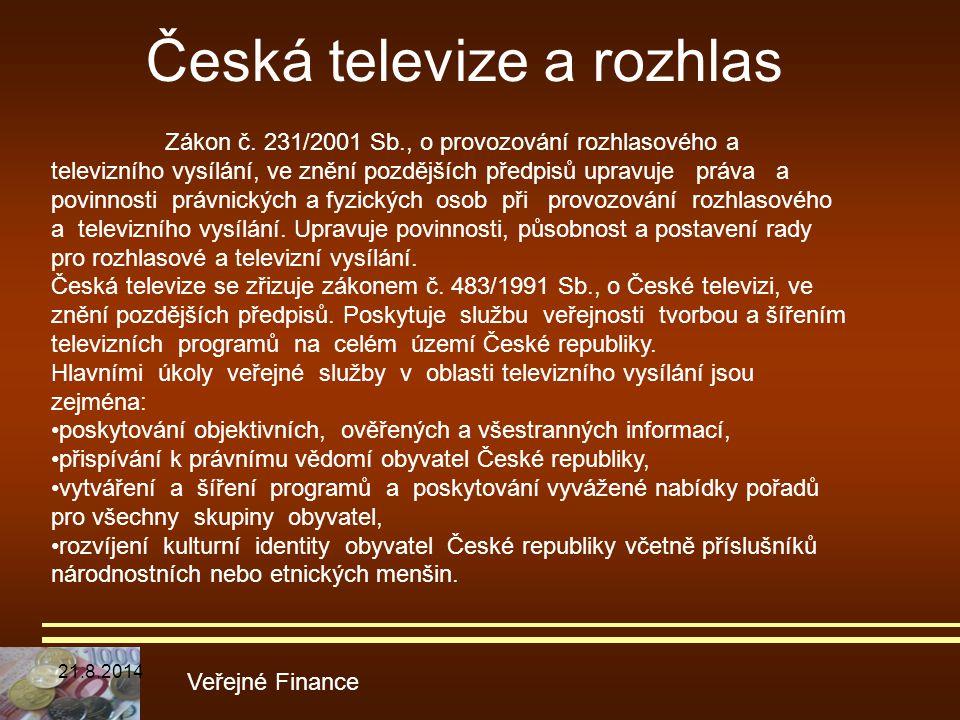 Česká televize a rozhlas