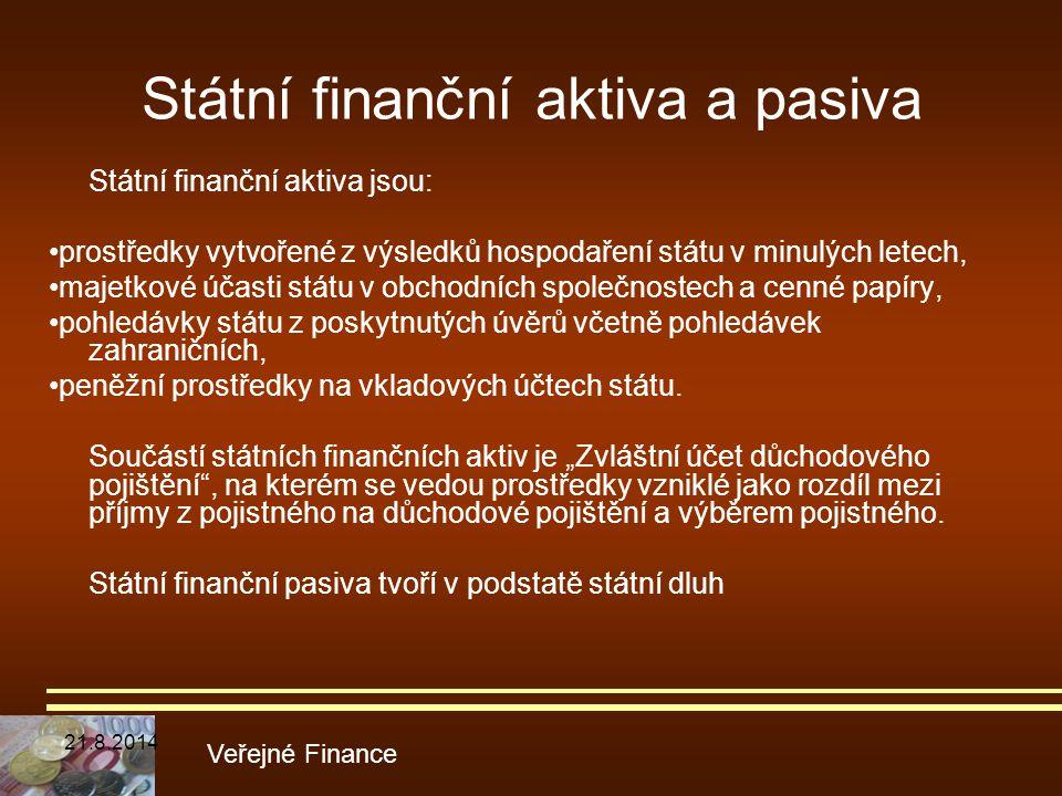 Státní finanční aktiva a pasiva