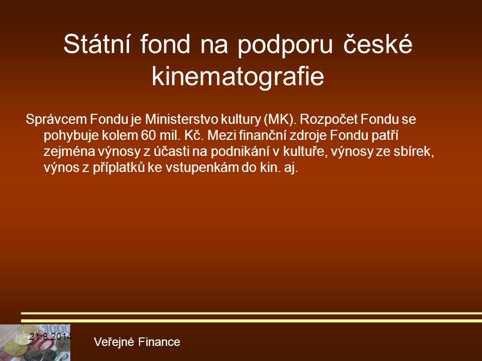 Státní fond na podporu české kinematografie