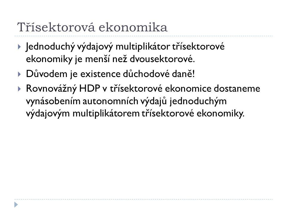 Třísektorová ekonomika