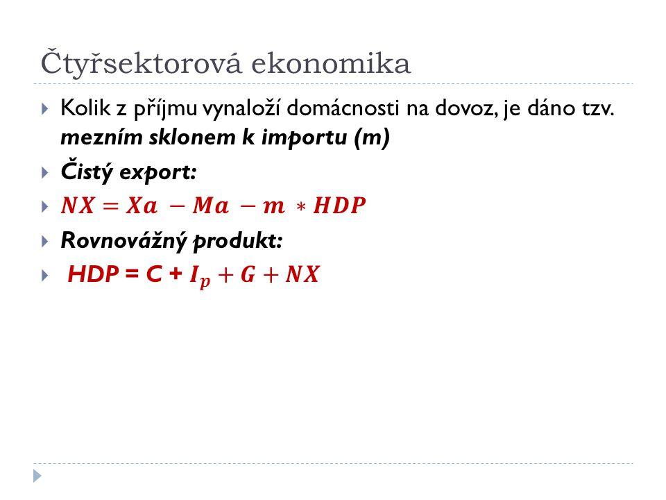 Čtyřsektorová ekonomika