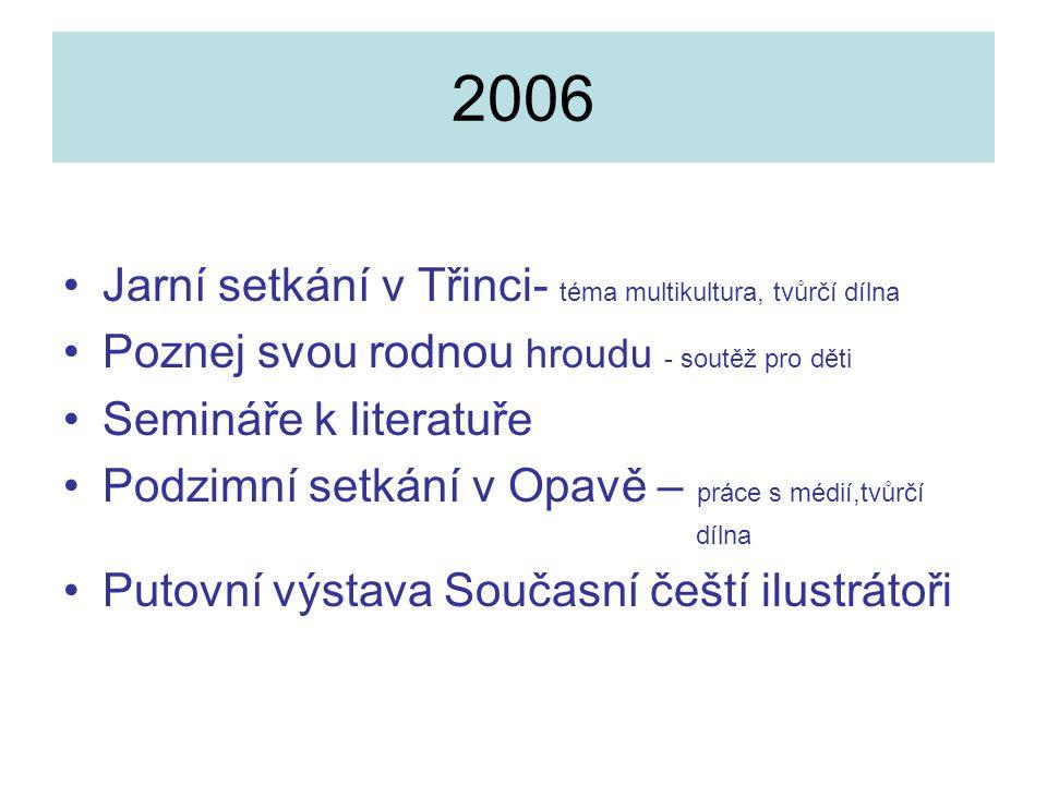 2006 Jarní setkání v Třinci- téma multikultura, tvůrčí dílna