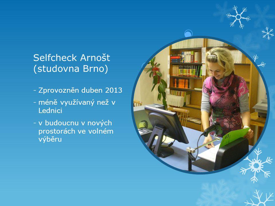 Selfcheck Arnošt (studovna Brno)