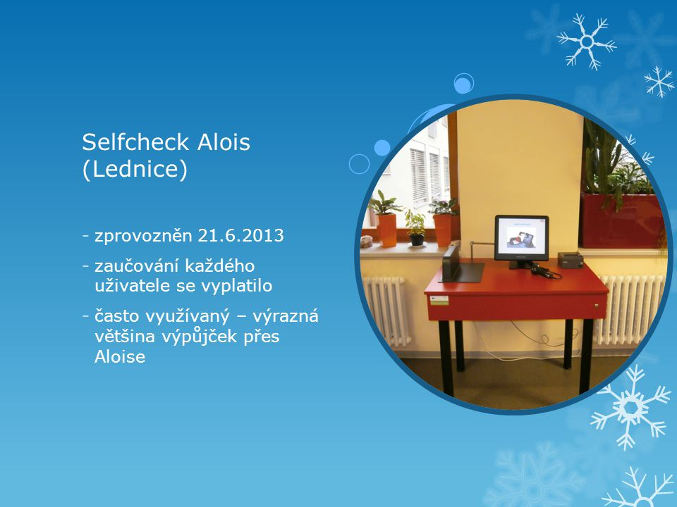 Selfcheck Alois (Lednice)